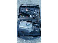 PANASONIC CHARGER NV-M7B VINTAGE S-VHS CAMCORDER NV-M7B