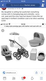 Babystyle prestige pushchair