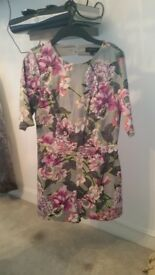 Size 8 £10 River island Floral playsuit