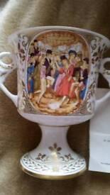 Caverswall 1982 china goblet