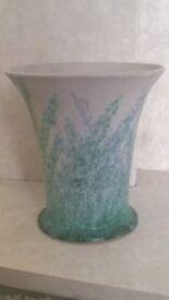 Denby 'Danesby Ware' large Stoneware Vase, c.1930s
