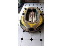 Seahawk 200 Dinghy. Inflatable boat suitable for 2 people or up to 120Kg
