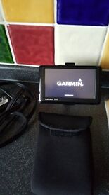 Garmin 1390 Sat Nav with Blu Tooth for phone connection