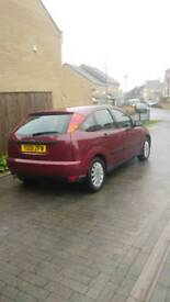 Ford focus 1.6 zetec 11month mot