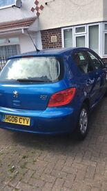 Peugeot 307 1.6 diesal for sale 2 private lady owners