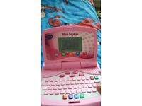 Vtech Pink Mini Laptop for kids learning and playing