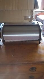 Silver bread holder in very good condition