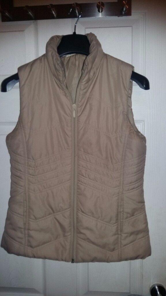 New Ladies Womens Sleeveless Jacket size 10