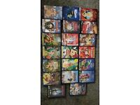 Selling my 124 Disney DVDs