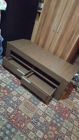 Brand new TV unit brown £80