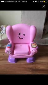 Fisher price laugh and learn smart chair
