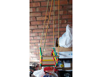 Wooden nfant's Swing Children's swing