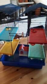 Large hamster/rat cage