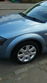 """TT 16"""" alloy wheels x4 with 4 tyres only £110 Lot"""