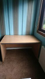 Desk - oak effect - great for homework / study