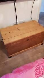 Antique Trunk, storage/toy chest, blanket box