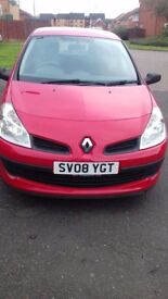 Renault Clio 08 plate