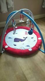 Mothercare Blue Whale Toy Mat