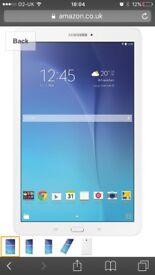 Samsung Galaxy Tab E 9.6 8GB WiFi white