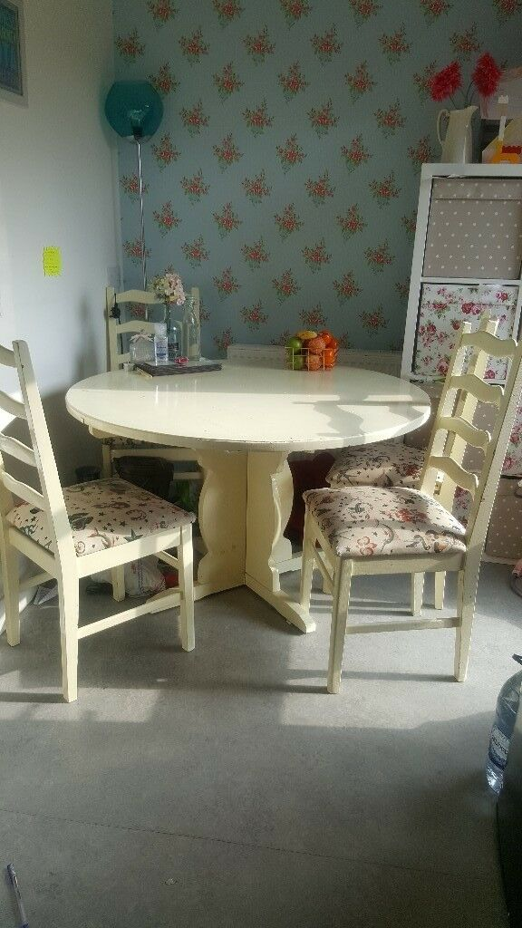 Amazing Fabulous Upcycled Dining Table And 4 Chairs First To View Will Buy In Newtownabbey County Antrim Gumtree Caraccident5 Cool Chair Designs And Ideas Caraccident5Info