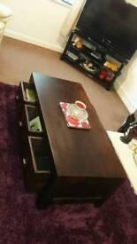 Darkwood coffee table