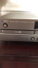 Yahama CD recorder