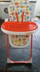 Cossato Noodle Supa highchair