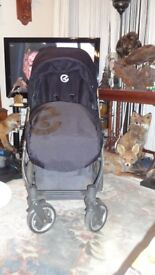 BABYSTYLE OYSTER--FULL SYSTEM WITH BUGGYBOARD VGC