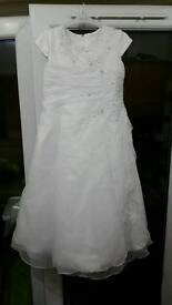 first holy communion dress by linzi jay and ted baker jacket