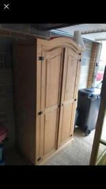 Mexican Pine Wardrobes x2
