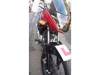 YAMAHA-YBR-125-2014-CLEAN-NO MOT X 1 YRS-SOLD WITH V62 FORM -SWEET RIDING BIKE -GET ON N GO