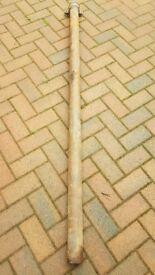 New cast iron downpipe