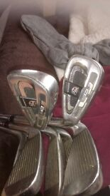 Full set of golf clubs good condition. 75.00 pounds