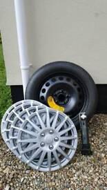 Spare wheel volvos80