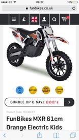 Kids MXR Electric motorbike