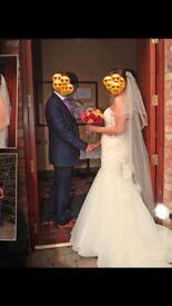Wedding dress, bridesmaid dresses, flower girl dresses