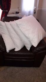 100% duck feather cushions
