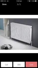 Brand new Standard panel radiator