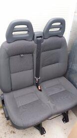 Citroen Relay front bench seat