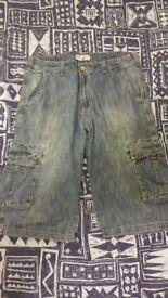 Jeans short 3/4 size 38