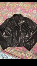 New Look girls biker jacket Aged 12-13