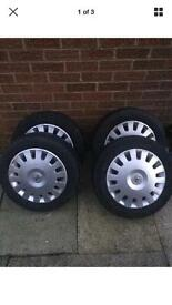 Vauxhall Corsa C Wheels set of 4 with tyres and trims