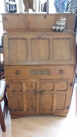 REDUCED TODAY ONLY Stunning vintage oak bureau