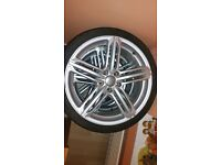 """Audi 19"""" rs6 alloys with really good tires"""