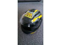 Motorcycle Helmet - FM AXE Size 58, Type B
