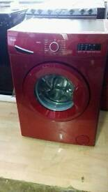 Swan SW2051R Red 7kg 1200 Spin Washing Machine *Exdisplay*