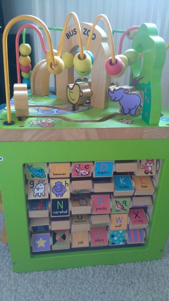 Busy zoo activity cube | in Solihull, West Midlands | Gumtree