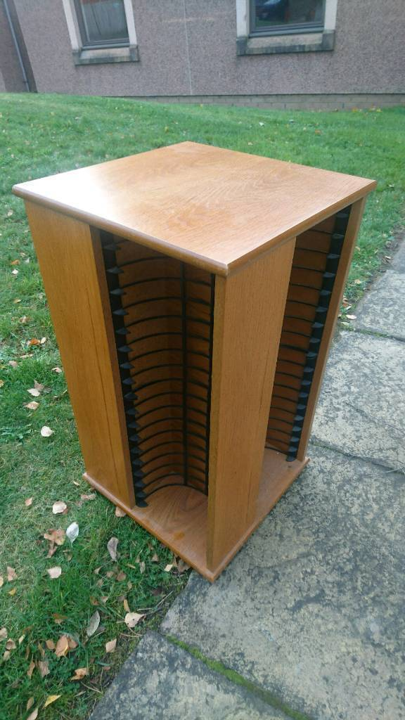 Revolving dvd tower, storage tower, holds 150 Dvd's