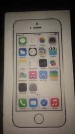 Mint condition iPhone 5s gold