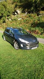 PEUGEOT 308 SW 2.0 HDI SPORT FAP 12 MONTHS MOT 2 YEARS AUTO PROTECT WARRANTY
